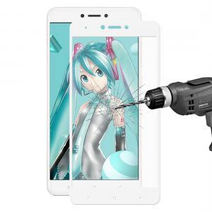 Enkay Displayskydd för Xiaomi Note 4X - Av härdat glas 9H Vit Ram
