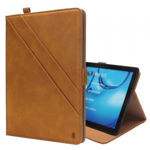 Fodral för Huawei MediaPad M5 10.8 - Extrafack & Pennhållare Ljusbrun
