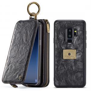 CaseMe för Galaxy S9 Plus - (3 i 1) Flipfodral, plånbok & magnetskal
