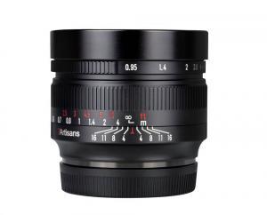 7artisans 50mm f/0.95 Objektiv APS-C för Fujifilm X