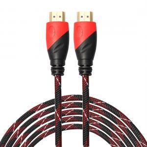 HDMI-kabel nylonflätad 5.0 meter vers.1.4