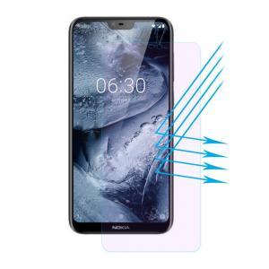 Enkay Displayskydd för Nokia X6- Av härdat glas 9H Anti Blue-ray