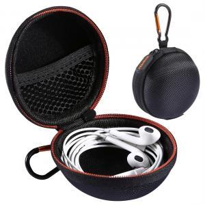 HAWEEL Förvaringsväska med karbinhake för In-Ear hörlurar