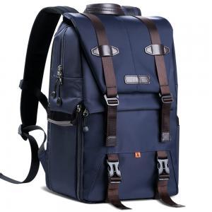 K&F Concept Kameraryggsäck blå med uttagbar innerskydd/insats