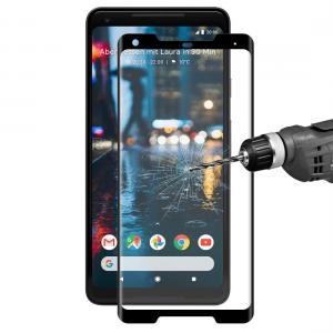 Enkay Heltäckande 3D Displayskydd 9H för Google Pixel 2 XL- Svart ram