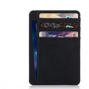 Plånbok med RFID-skydd och plats för ID-kort/ kreditkort