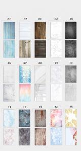 Pappersbakgrund dubbelsidig för fotografering 57x87cm