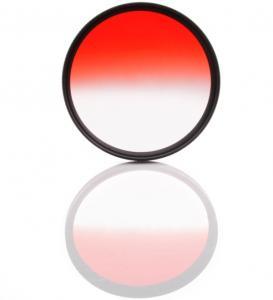 Haida Halvtonat Rödfilter