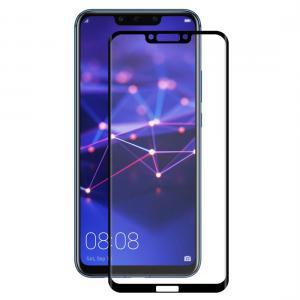Displayskydd med svart ram för Huawei Mate 20 Lite av härdat glas