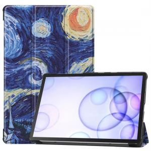 Fodral för Galaxy Tab S6 T860/T865 - Oljemålning