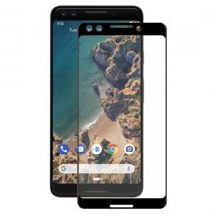 Enkay Heltäckande 3D Displayskydd 9H för Google Pixel 3- Svart ram