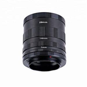 Mellanringar 3st för Nikon 7/14/28mm