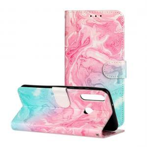 Plånboksfodral för Huawei Y6p - Marmor