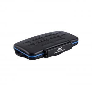 JJC Minneskortsfodral för 6x SD + 6x MSD + 2xSIM + 4x MicroSIM + 4x NanoSIM