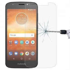 Displayskydd 2.5D för Motorola Moto E5 - Av härdat glas 9H