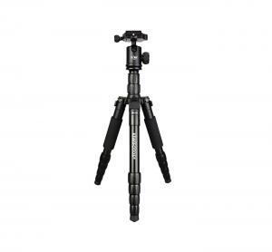Kiwifotos 2 i 1 135cm Kamerastativ Pro kulled KTB-1335