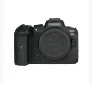 Kiwifotos Skin för Canon EOS R6 - Svart kamoflage