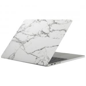 Skal för New Macbook Pro 13.3-tum - Marmor vit grå (A1706/A1708)