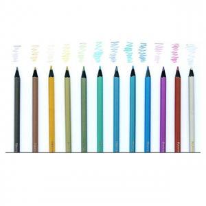Kit med metallic färgpennor 12st