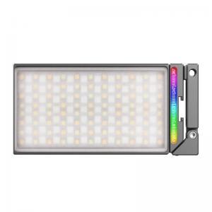 VIJIM RGB Led-Panel för kamera med justerbart fäste & inbyggt batteri