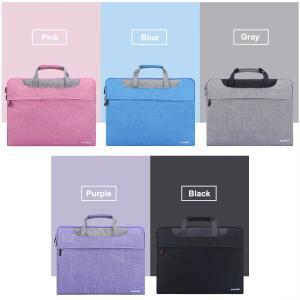 HAWEEL Handhållen laptopväska med axelrem & dragkedja