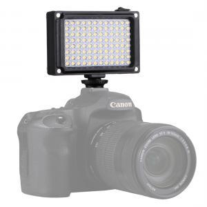 Puluz Videobelysning med 96st LEDs med 2st ljuspaneler [Storlek: 10.5x8.8x3.5cm]