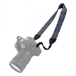 Puluz Kamerarem - Multifärgat retro mönster blå