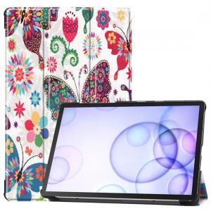 Fodral för Galaxy Tab S6 T860/T865 - Fjärilsmönster
