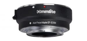 Commlite Objektivadapter elektronisk till Canon EF för Canon EOS-M Kamerahus