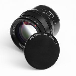 TTartisan 50mm f/1.2 Objektiv APS-C för Fujifilm X