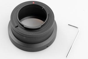 Kiwifotos Objektivadapter till M42 för Nikon 1 kamerahus