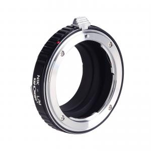 K&F Objektivadapter till Nikon F objektiv för Leica M kamerahus