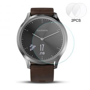 Enkay 2.15D Displayskydd för Garmin Vivomove HR - Av härdat glas 9H