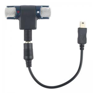Extern Minimikrofon med USB 10 Pin adapter kabel för Gopro