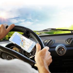 HAWEEL Universal mobilhållare som fästes i bilens ratt
