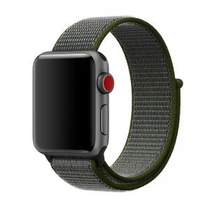 Armband för Apple Watch 38mm / 40 mm - Mörkgrön