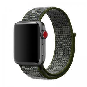 Armband för Apple Watch 38mm / 40 mm - Mörkgrön