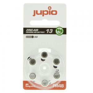 Jupio hörapparatsbatteri 13 Orange - 6st/förpackning