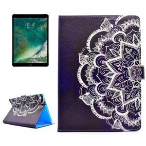 Fodral för iPad 9.7 - Mandalablomma blå