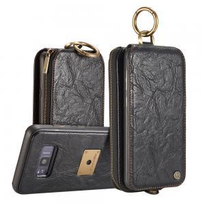 CaseMe för Galaxy S8 - (3 i 1) Flipfodral, plånbok & magnetskal