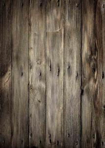 Vinylbakgrund 1.5x2.1m - Mörkbrun trävägg