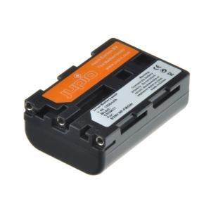 Jupio kamerabatteri 1600mAh ersätter Sony NP-FM55H / NP-FM50 / NP-FM51