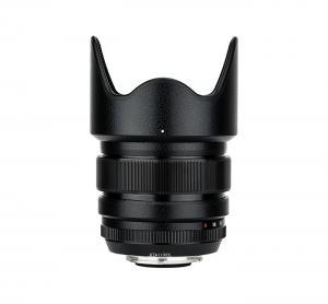 Kiwifotos Skin för Fujifilm XF 23mm f/1.4 R - Svart Lädertextur