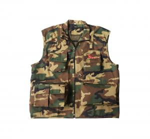O.N.E Professionell Fotoväst - Militärfärgad Extra Large