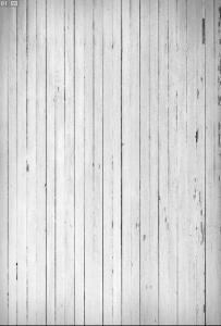 Vinylbakgrund 1.5x2.2m - Trävägg med slitna brädor vit