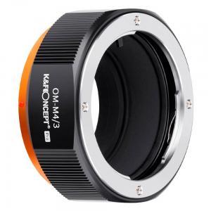 K&F Concept Objektivadapter Pro till Olympus OM objektiv för Micro 4/3 kamerahus