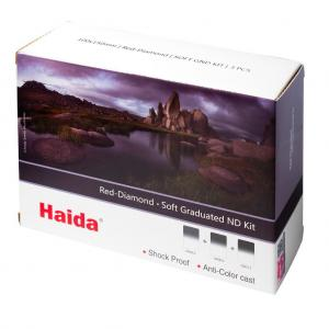 Haida Red Diamond Mjuk Graderat ND Filter-Kit ND4 ND8 ND16