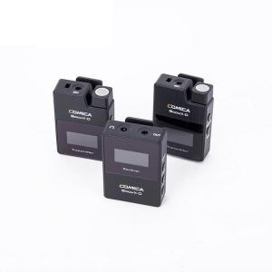 Trådlöst 2.4 GHz Mikrofonsystem 2x myggkit - Comica BoomX-D