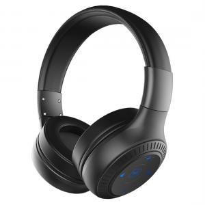 Trådlösa stereo hörlurar - BT 4.0, Mic och 3.5mm Ljudkabel