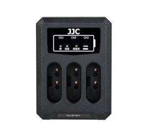 JJC USB-driven batteriladdare 3x för Sony NP-BX1